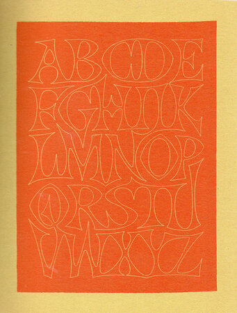 Variations on the Theme of Twenty-Six Letters. by KINDERSLEY, David.