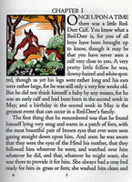 The Story of a Red-Deer. by GREGYNOG PRESS. FORTESCUE,The Hon. J.W.
