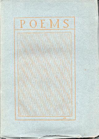 Poems. by DANIEL PRESS. BINYON, Laurence.