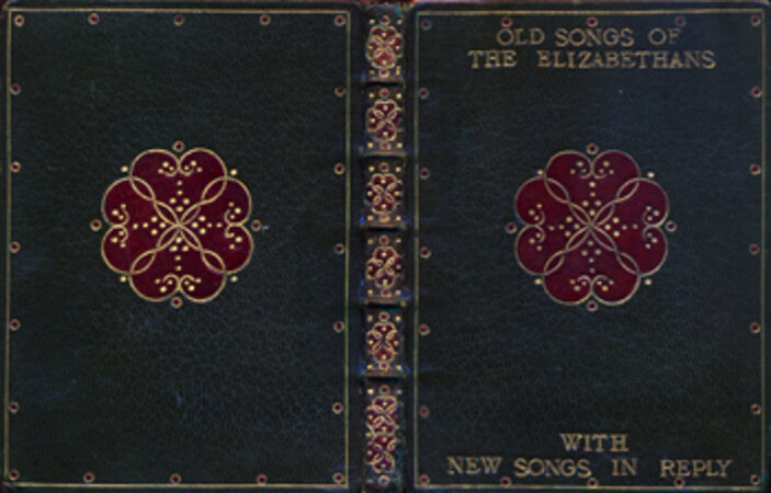 Old Songs of the Elizabethans, with New Songs in Reply. by BINDING. [J.A.P.].