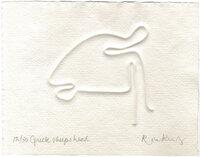Greek Sheep's Head. by KING, Ron. b.1932
