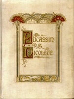 Aucassin and Nicolete. Done from the Old French. by CAMPERFIELD PRESSE. PAUL, Evelyn. WEST, Michael.