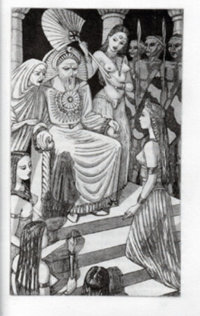 The Grecian Enchanted. by BUCKLAND WRIGHT, John. GOLDEN COCKEREL PRESS. [HARTNOLL, Phyllis].