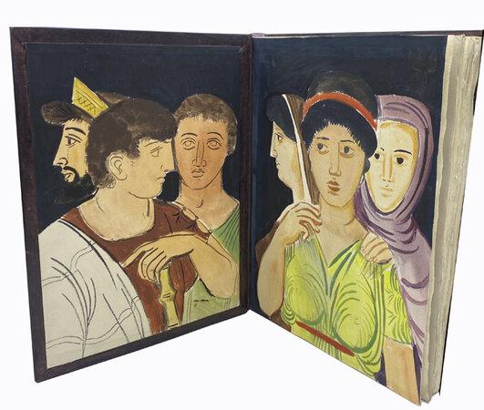 Lysistrata. by BARTA, Ladislas Laszlo. ARISTOPHANES.