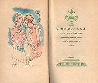 Graziella. by NONESUCH PRESS. JACQUIER. LAMARTINE, A. de.