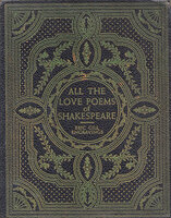 All the Love Poems of Shakespeare. by SYLVAN PRESS. GILL, Eric. SHAKESPEARE, William