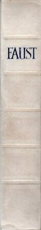 Faust. Eine Tragödie von Goethe. by ERNST LUDWIG PRESSE. GOETHE, Johann Wolfgang von.