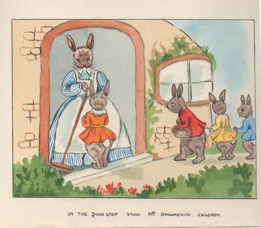 The Pink Dresses; Timothy Meets Mr. Ferret; Marmaduke's Adventure & The Tale of Tibby the Pig. Four original children's stories by Lewis Clarke. by CLARKE, Lewis.