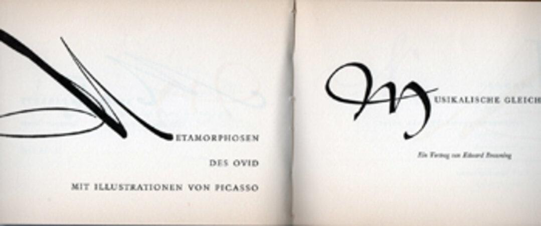 Initialen von Imre Reiner. Mit vielen Satzbeispielen und historischen Initialen in zweifarbigem Druck Eingeführt. by KIENZLE, Hermann. REINER, Imre.