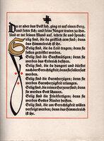 Die Bergpredigt Jesu Christi in der Lutherschen Übersetzung.[The Covenant of Jesus Christ in the Lutheran translation]. by KOCH, Rudolf.