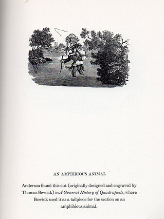 Alexander Anderson. His Tribute to the Wood-Engraving of Thomas Bewick. by [BEWICK, Thomas]. THOMPSON, Lawrence.