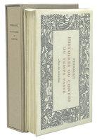 Histoires ou Contes du Temps Passé Avec des Moralitez. by TALLONE. PERRAULT, Charles. LÉBÉDEFF, Jean.