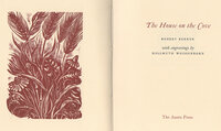 The House on the Cove. by WHITTINGTON PRESS. WEISSENBORN, Hellmuth. BERNEN, Robert.