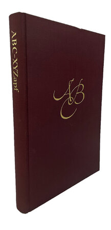 ABC-XYZapf. Fifty Years of Alphabet Design. by ZAPF, Hermann.