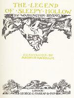 The Legend of Sleepy Hollow. by RACKHAM, Arthur. IRVING, Washington.