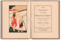 The Parable Against Persecution A Proposed New Chapter for the Bible. by ROLLINS, Carl Purington. FRANKLIN, Benjamin.