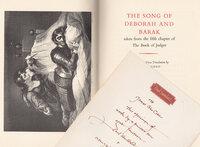 The Song of Deborah and Barak. by RAMPANT LIONS PRESS. CARTER, Sebastian. NORTHCOTE, James.