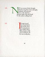 Two Specimen Pages from Anne Boleyn. by GREGYNOG PRESS.