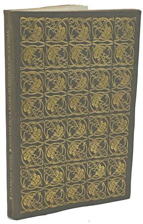 Histoire de la Reine du Matin & de Soliman Prince des Genies. 1909. by ERAGNY PRESS. NERVAL, Gerard de.