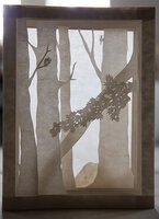 Forest Light. by RAHDA PANDEY, book artist.