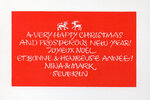 Another image of 22 original Christmas Cards. by SEVERIN, Mark.