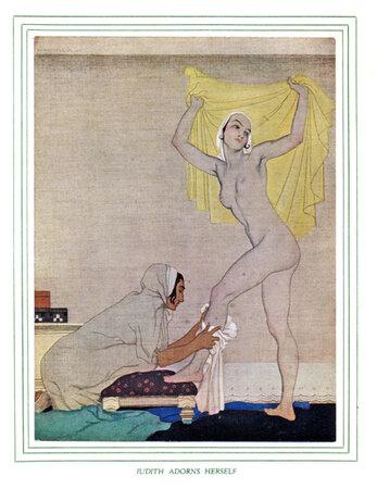 Judith. by RUSSELL FLINT, William. HAYMARKET PRESS.