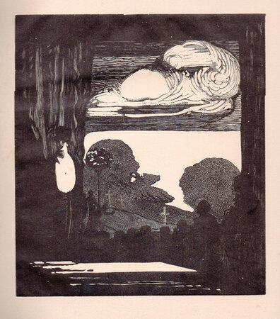 Der Weisse Fächer: Ein Zwischenspiel. by CRAIG, Edward Gordon. VON HOFMANNSTHAL, Hugo.