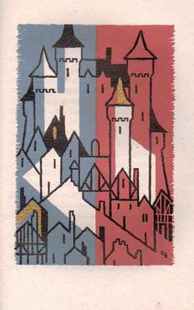 La Porte de Malétroit. by ALLEN PRESS. STEVENSON, Robert Louis.