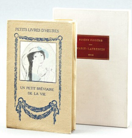 Un Petit Breviaire de la Vie. by LAURENCIN, Marie. FIGUIERE, Eugene.