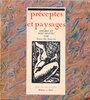 Another image of Préceptes et Paysages. by BONGNIE, Emile de.