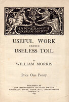 Early Hammersmith Socialist Archive. by KELMSCOTT PRESS. HAMMERSMITH SOCIALIST SOCIETY. MORRIS, William.