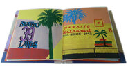 Another image of Los Angeles Palm Trees. by PETER JONES, designer bookbinder. RED FOX PRESS & FRANTICHAM BOOKS.