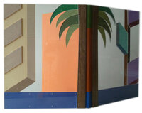Los Angeles Palm Trees. by PETER JONES, designer bookbinder. RED FOX PRESS & FRANTICHAM BOOKS.