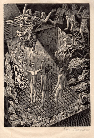 The Apocrypha, according to the Authorized Version. by CRESSET PRESS. RAVILIOUS, HUGHES-STANTON, NASH, HERMES &c.
