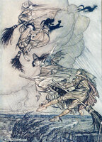 The Ingoldsby Legends of Mirth and Marvel. by RACKHAM, Arthur. INGOLDSBY, Thomas.