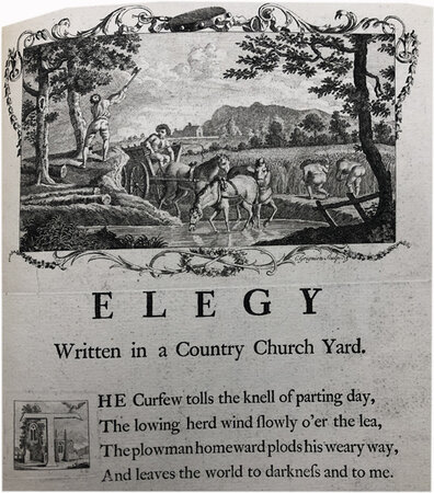 Designs by Mr R. Bentley, for Six Poems by Mr. T. Gray. by GRAY, Thomas. BENTLEY, R.