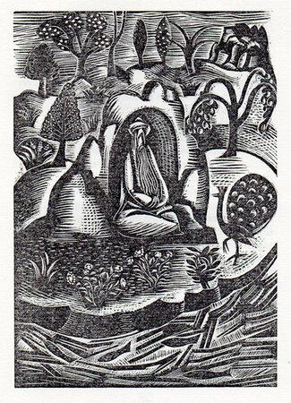 Abd-Er-Rhaman in Paradise by Jules Tellier. by NASH, Paul. GOLDEN COCKEREL PRESS.