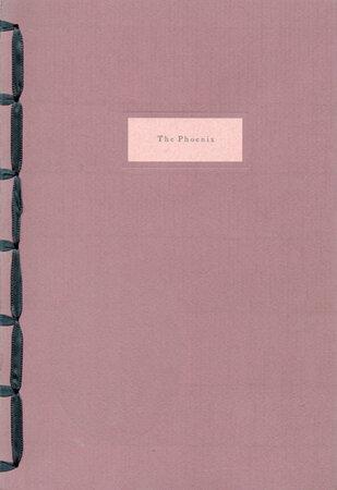The Phoenix. by WHITTINGTON PRESS. HANSCOMB, Brian.