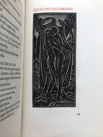 Canticum Canticorum Salomonis. by CRANACH PRESS. GILL, Eric.