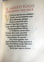 Carmina Alcaica. by ASHENDENE PRESS. HORACE. HEWITT, Graily.