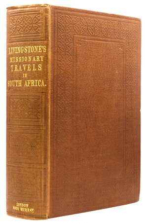 Missionary Travels and Researches in South Africa. Including a Sketch of Sixteen Years' Residence in the Interior of Africa, and a Journey from the Cape of Good Hope to Loanda on the West Coast; Thence across the Continent, down the River Zambesi, to the Eastern Ocean. by LIVINGSTONE, David.