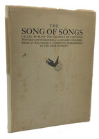 The Song of Songs, called by many the Canticle of Canticles. by GOLDEN COCKEREL PRESS. GILL, Eric.