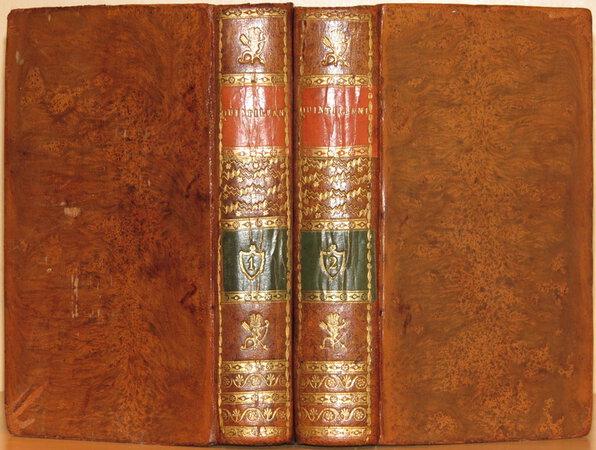 Instiitutio Oratoria. (Institutionum Oratoriarum) by QUINTILIAN, Marcus Fabius. (QUINTILIANI)