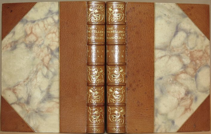 The Novellino of Masuccio by MASUCCIO, Salernitano ( Translated into English by W.G. Waters )