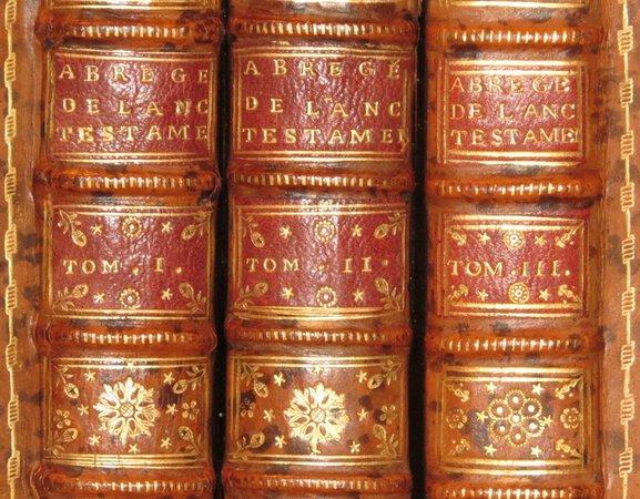 Abbrege De L'Histoire de L'Ancien Testament, Ou L'on A Conserve,.. by HISTOIRE