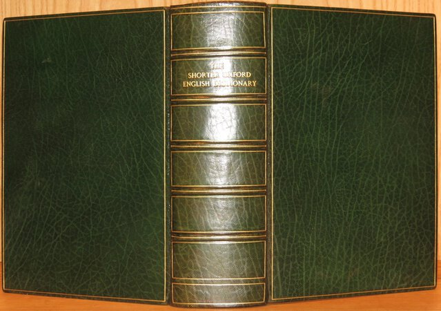 The Shorter Oxford English Dictionary by ONIONS (Revised and edited by ).