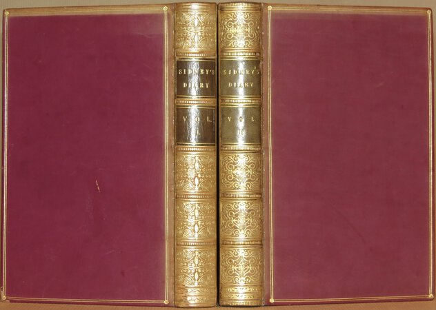Diary of The Times of Charles The Second by SIDNEY, Henry