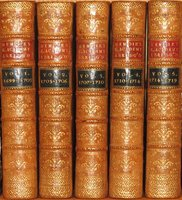 The Philosophical History And Memoirs of The Royal Academy of Sciences at Paris: Or, An Abridgement of All The Papers Relating To Natural Philosophy, Which Had Been Published By Members of That Illustrious Society, From The Year 1699 to 1720. by MARTYN, John and CHAMBERS, Ephraim (Translated into English by)