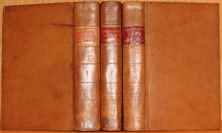 Reports of Cases Argued and Determined in the Court of Common Pleas, and Other Courts by TAUNTON, William Pyle