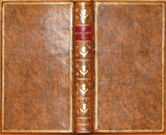 Quinti Horatii Flacci Carmina, detersis recentibus plerumque maculis, nitori suo restitula. by HORACE (Quintus Horatius Flaccus)